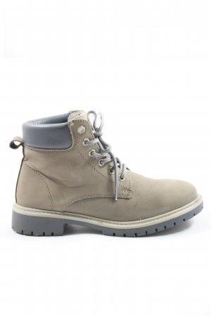 WalkX Lace-up Booties natural white casual look