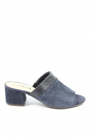 Walkx Women Sandalo con tacco blu stile casual