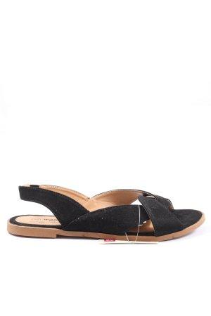 Walkx Women Comfort Sandals black casual look