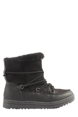 Walkx Women Winter-Stiefeletten schwarz Casual-Look