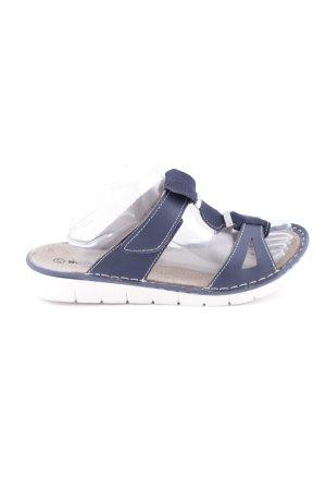 Comfort Sandals blue casual look