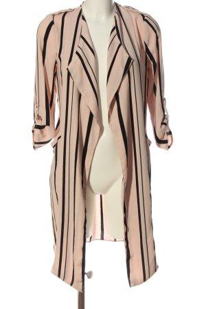 Wallis Chaqueta tipo blusa nude-negro estampado a rayas look casual