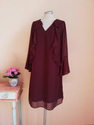 Wallis Chiffon Dress multicolored