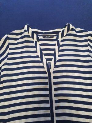 Wallis Long Sleeve Blouse white-blue