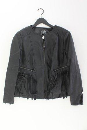 Wallis Jacke Größe 46 neuwertig schwarz aus Polyester