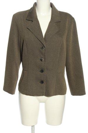 Wallis Korte blazer khaki gestippeld zakelijke stijl