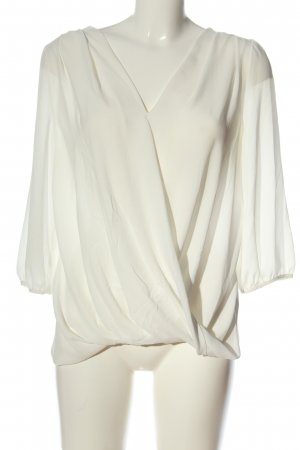 Wallis Long Sleeve Blouse white business style