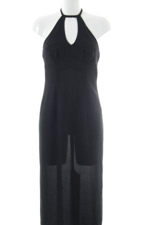 Wallis Sukienka z dekoltem typu halter czarny Styl klasyczny