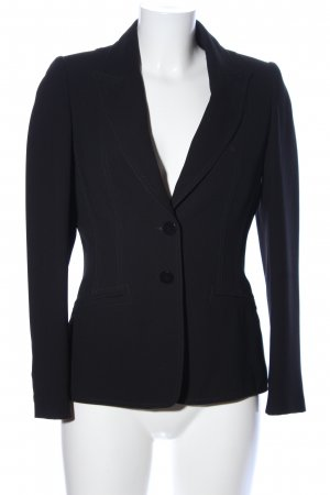 Wallis petite Long-Blazer schwarz Business-Look