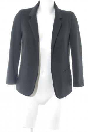 Wallis petite Strickblazer schwarz Business-Look