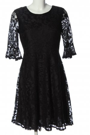 Wallis Lace Dress black elegant