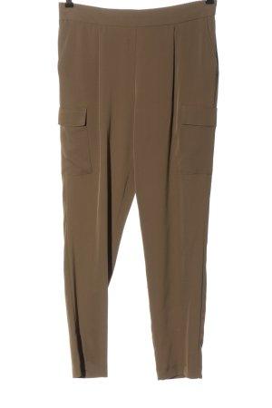 Wallis Pantalone jersey marrone stile casual
