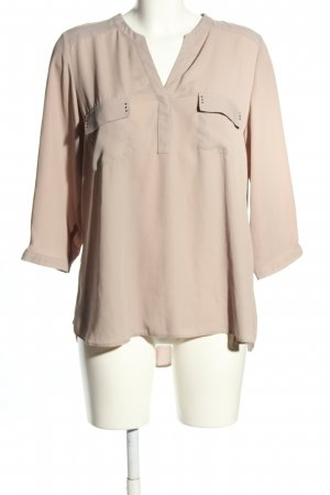 Wallis Transparenz-Bluse creme Casual-Look