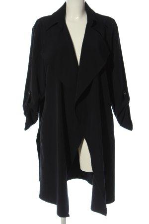 Wallis Between-Seasons-Coat black casual look
