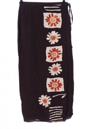 Wallis Wraparound Skirt flower pattern casual look