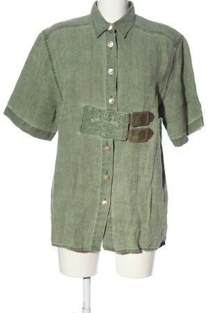 Wallmann Camicia a maniche corte cachi stile casual