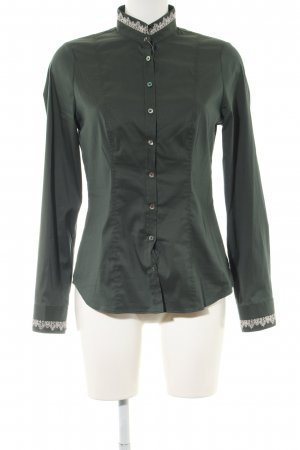 Wallmann Langarmhemd khaki Business-Look