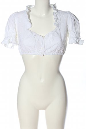 Wallmann Traditional Blouse white classic style