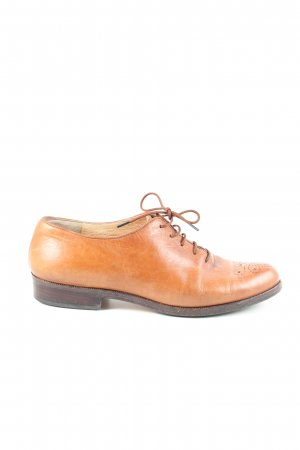 Walter Genuin Oxfords licht Oranje casual uitstraling