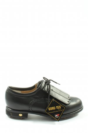 Walter Genuin Chaussure Oxford noir style d'affaires