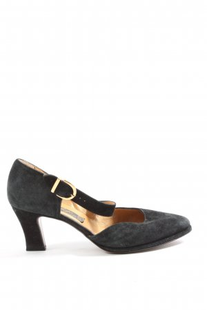 Walter Käfer Backless Pumps black casual look