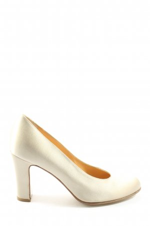 Walter Steiger High Heels creme Casual-Look