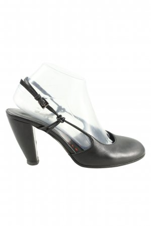 Walter Steiger Riemchenpumps schwarz Business-Look