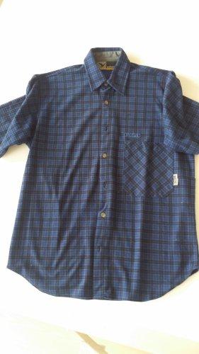 Salewa Short Sleeved Blouse blue
