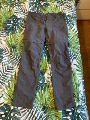 McKinley Spodnie sportowe ciemnoszary-antracyt Tkanina z mieszanych włókien
