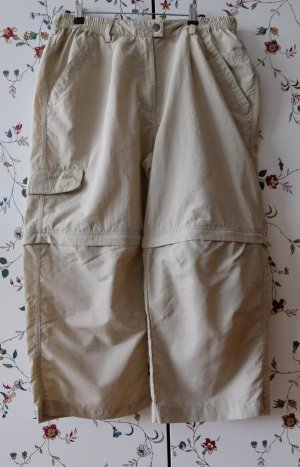 Wanderhose mit vorgeformten Knien und abzippbaren Beinen