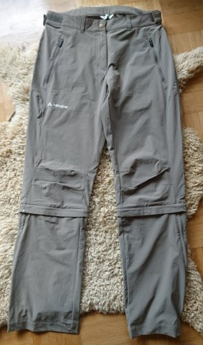 Vaude 3/4 Length Trousers beige-light brown polyester