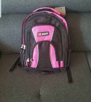 Enrico Benetti Trekking Backpack black-pink