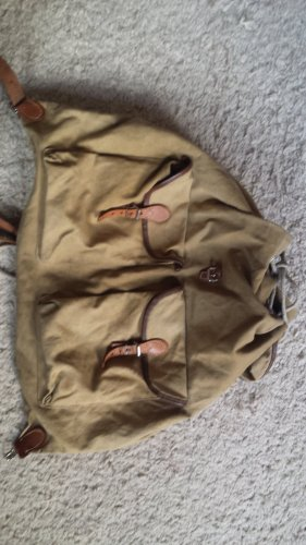 Trekking Backpack sand brown cotton