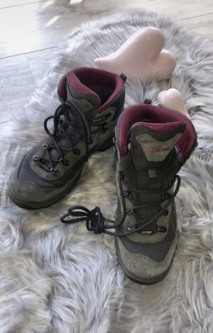 Lowa Low boot gris-violet
