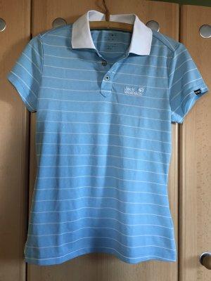 Jack Wolfskin Short Sleeve Shirt white-azure