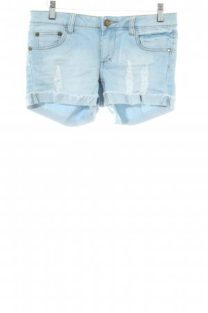 Ware Denim. Hot Pants blau Casual-Look