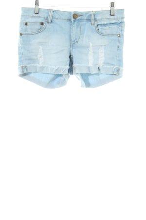 Ware Denim. Hot Pants blau Casual-Look