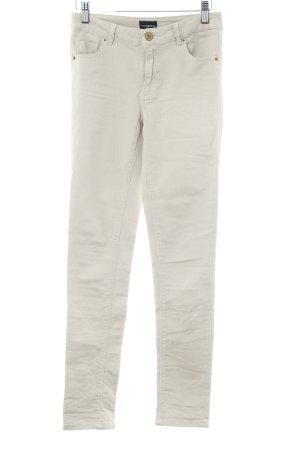 Ware Denim. Skinny Jeans hellbeige-creme Casual-Look
