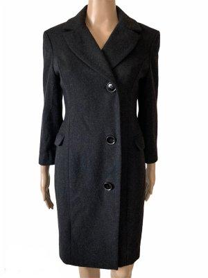 Warehouse Manteau en laine noir laine
