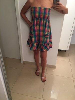 Warehouse Vestido playero multicolor