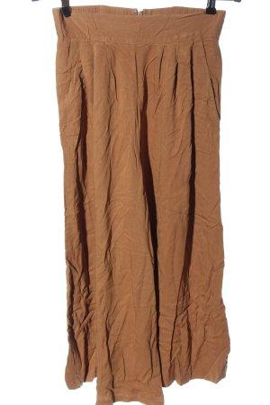 Warehouse Pantalon «Baggy» brun style décontracté
