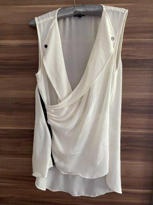 Warehouse Blusa de manga corta blanco puro