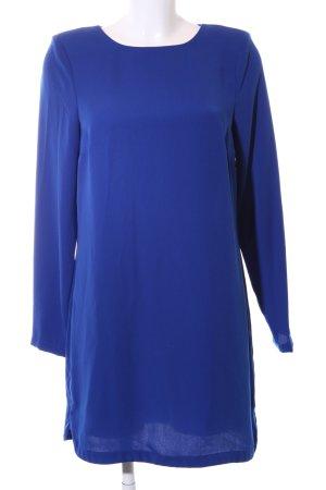 Warehouse Blusenkleid blau Business-Look