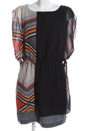 Warehouse Vestido camisero estampado gráfico elegante
