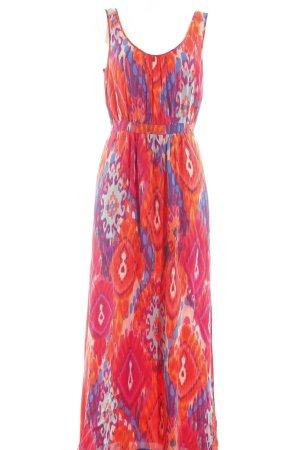 Warehouse Blusenkleid abstraktes Muster Elegant