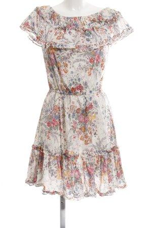 Warehouse Blusenkleid Blumenmuster Casual-Look