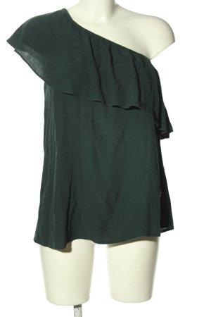 Warehouse Carmen-Bluse grün Casual-Look