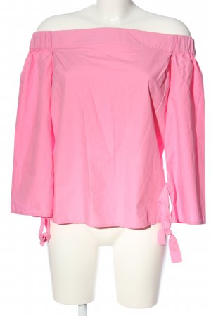 Warehouse Carmen-Bluse pink Casual-Look