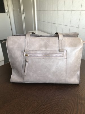 Warehouse graue Shopper Handtasche