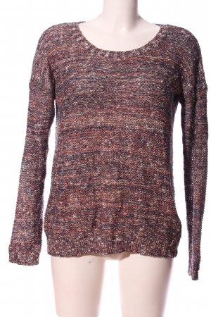 Warehouse Coarse Knitted Sweater allover print casual look